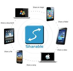 Sharable is better than internet based services as it does not use the internet and transfers file only across the wifi network. This means that it is truly free. As Sharable does not depend on any server it is faster than any server based sharing service available. Sharable also has an added advantage that you do not have to manage multiple accounts on various servers to share files with people on your network.