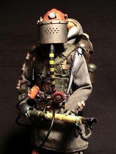 Post Apocalyptic Costume, Apocalyptic Fashion, Apocalypse World, Zombie Apocalypse, Character Concept, Concept Art, Character Design, Diesel Punk, Cyberpunk