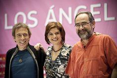 """Gustosos de celebrar que #LosÁngelesLeen en español, los integrantes del programa """"La dichosa palabra"""" tuvieron una amena tertulia literaria con la gente que asistió a #LéaLA2013."""