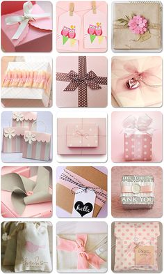 """""""Pretty In Pink"""" Gift Packaging Round-Up 