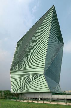 Mario Cucinella Architects, Center for Sustainable Energy Technologies, Ningbo, China, 2008. @designerwallace