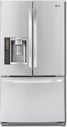 Ft Counter Depth French Door Refrigerator Stainless Steel