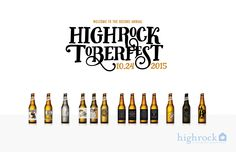 2015 - 2nd Annual Highrocktoberfest on Behance