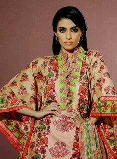 Alkaram Eid Collection 2014 – Alkaram Umar Sayeed Festival 2014-2015 – She9   Adjust the Life Style - FASHIONPAB