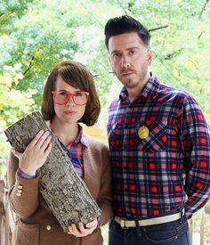 Twin Peaks Costumes (via abeautifulmess.com )