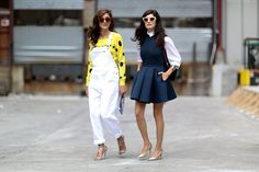 Pin for Later: 23 Ways to Work Your Basic Button-Down Under a sleeveless dress