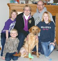 Injured dog survives two weeks in icy ditch; Returns home to his Perham family in time for Christmas. #dog #rescue #animals #pets