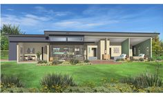 ekohome - Modular eco homes and houses in New Zealand - green building at it's best from Hybrid Homes: Designs - Manuka East Entry