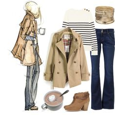 airport chic look - jet set outfit