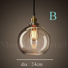 google reflection condensing specular map new modern vintage industrial retro loft glass ceiling lamp shade pendant light mozeypictures Gallery