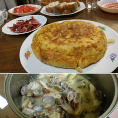 Hoy hemos hecho cena española para nuestros anfitriones japoneses