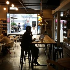 Coffeeshop vibes (at Motherland)