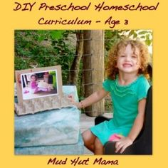 Preschool Homeschool Curriculum - Age 3. Week by week curriculum for the whole year!