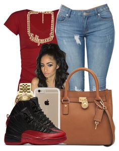 """Tmrw Is My Birthdayyyy"" by polyvoreitems5 ❤ liked on Polyvore featuring Full Tilt, Michael Kors, Speck, Rolex and Forever 21"