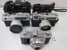 FC5-458KA ヤシカ等 フィルムカメラ 5台セット ジャンク - ヤフオク!  NISHIKA  3-D N8000 YASHICA  35MF YASHICA  ELECTRO35GL YASHICA  ELECTRO35GS TOMIOKA  PIGEON