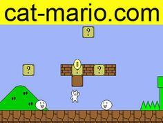www.cat-mario.com  Very funny mario game.