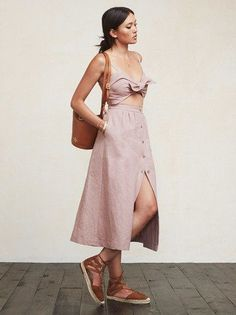 Summer CutOut Dress Outfit Ideas  Click to see more : http://www.ferbena.com/summer-cutout-dress-outfit-ideas.html