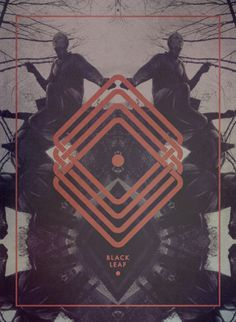 Black Leaf by Jacopo Severitano, via Behance