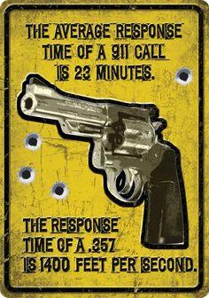 "(RE1561) ""Average Response Time"" Western Humorous Tin Sign"