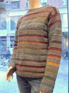 ideas crochet sweater women crafts for 2019 Pull Crochet, Knit Crochet, Knitting Designs, Knitting Projects, Knitting Patterns, Crochet Patterns, Pulls, Hand Knitting, Knitting Machine