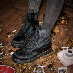 After Party: These 1460 boots are the alternative dancing shoes.