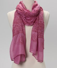Take a look at this Magenta Mahadeva Prayer Shawl by OMSutra on  zulily  today! 89a9fc2eaaa7c
