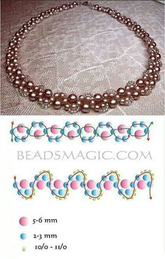 Beading necklace