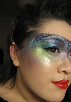 """Fun & colorful makeup """"mask"""""""