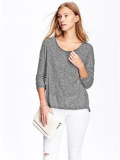 Womens Burnout Sweaters