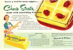 Cheese Strata - Velveeta Cheese
