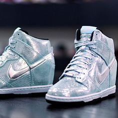 Nike disco ball dunk sky high