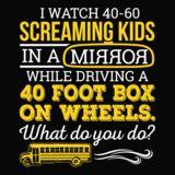 School Bus Driver - What Do You Do - - 14