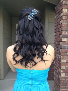 did my cousin's hair for prom!
