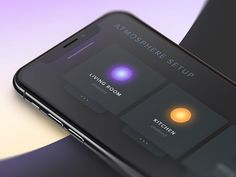 Smart home light atmosphere app experiment to embrace the iPhone X notch and play with colors.  We are hiring Munich, Shanghai & Stuttgart http://phoenixdesign.com/en/jobs/  Get in touch http:/... #smarthomelighting