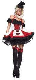 Queen of Hearts Costume. FREE Halloween Costume Ideas Special Report at http://CostumesIdeasForHalloween.com    #2012halloweencostumesideas #costumesideas #halloweencostumes #queenofheartscostume