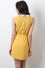 Ruby Love Dress in Yellow