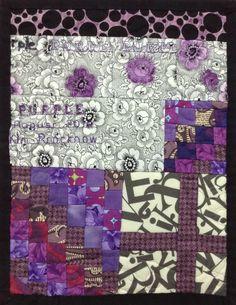 Purple: The back of Kim's piece