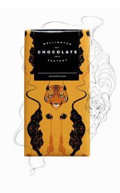 Wellington Chocolate Factory by Gina Kiel, via Behance