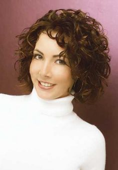 Short curly hairstyles for women with naturally curly                                                                                                                                                                                 More