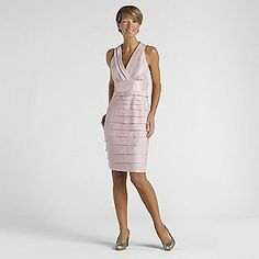 London Style Women's Blush Dress, Sears