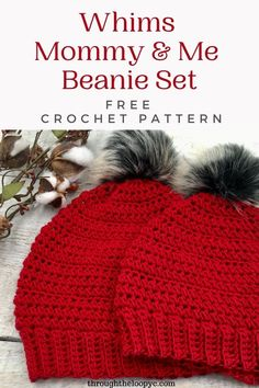 Easy Crochet Hat, Crochet Kids Hats, Crochet Beanie Pattern, Crochet Fall, Crochet Gifts, Free Crochet, Crocheted Hats, Crochet Headbands, Crochet Scarves