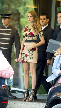 Cara Delevingne Leaves Her Hotel in Madrid06/15/2015
