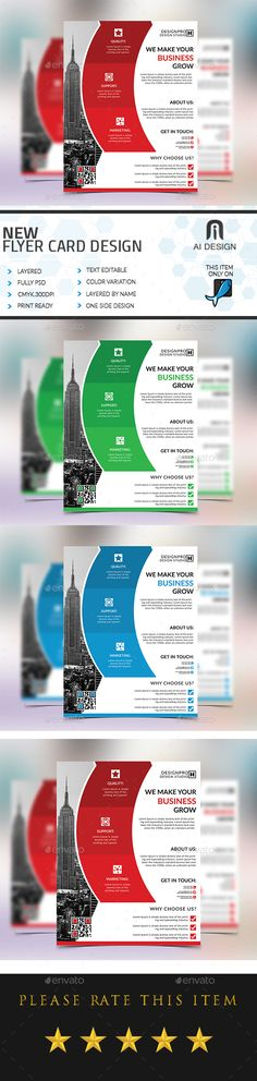 Corporate Business Flyer Templates Bundle V  Business Flyer
