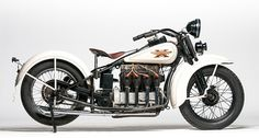 This 1929 Henderson KJ1000 Four Cylinder (Lot F32) is estimated to fetch between $75,000 and $90,000