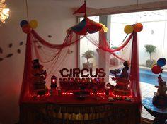 Circus circus mesa de dulce