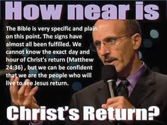 How near is Christ's return???
