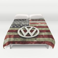 vw retro union jack duvet cover by alice gosling union jack une couette et housses de couette. Black Bedroom Furniture Sets. Home Design Ideas