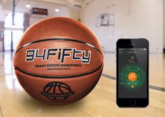 InfoMotion Sports Technologies Showcases 94Fifty Smart Sensor Basketball at the 2014 International CES