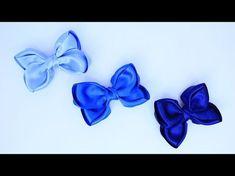 Passo a passo: Laço feito com fita de cetim/Diy - YouTube