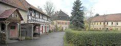 Das Rittergut Endschütz mit Herrenhaus (Bildmitte) steht für die typische Struktur der Rittergutsanlagen im einstigen Großherzogtum Sachsen-...
